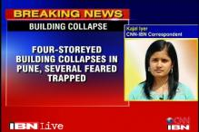 Pune: Building collapses, 6 dead, many feared trapped