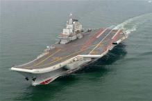Chinese Navy gets first aircraft carrier