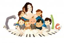 10 facts: Clara Schumann's 193rd b'day doodle
