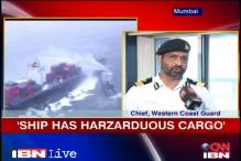 Mumbai ship fire: 'Hazardous cargo a challenge to rescue ops'