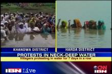 MP: A week on, villagers protest in neck-deep water