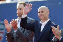 Agassi inducted into US Open Court of Champions