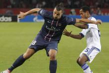 PSG beat Dynamo Kiev 4-1 in Champions League