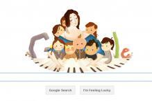 Google doodles Clara Schumann's 193rd birthday