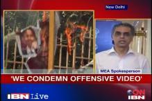 We condemn the anti-Islam video: MEA spokesperson