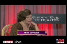 Hollywood star Milla Jovovich gets candid about 'Resident Evil: Retribution'