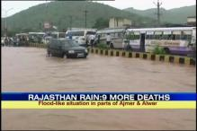 Rajasthan: Heavy rains leave 9 dead in 24 hours