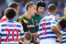 Ferdinand snubs Terry in pre-match handshake
