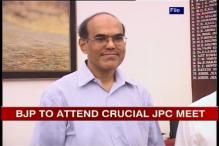 2G: JPC meeting today; RBI Governor to be questioned