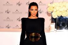 Reality TV star Kim Kardashian adopts a kitten