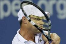 Roddick-Del Potro match suspended due to rain
