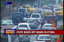 K'taka: 8000 buses off roads, commuters in trouble