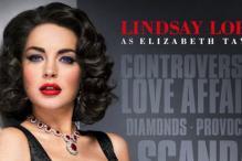 Lindsay Lohan's Elizabeth Taylor poster released