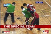 Differently-abled Special Olympic players dream big