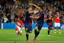 Messi to the rescue as Barca beat Spartak Moscow