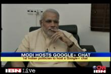 People ask, Modi answers on Google Plus Hangout
