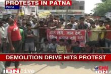 Patna demolition drive: Residents go on rampage