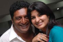 Prakash Raj visits Taj Mahal on his wife's birthday