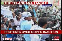 Bowing to pressure,. AP permits Telangana march