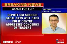 Akali Dal breaks ranks with NDA, backs FDI