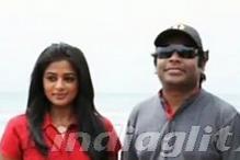 'Charulatha' team visits AR Rahman's shooting spot