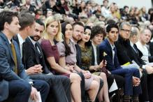 Saif Ali Khan attends the Burberry show in London