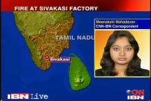TN: Many dead in fire at cracker factory in Sivakashi
