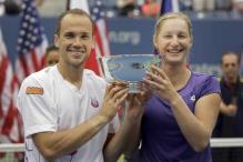 Soares-Makarova win US Open mixed doubles title