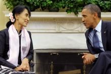 Suu Kyi receives US Congressional gold medal
