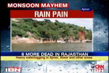 Heavy rains continue to lash parts of Rajasthan