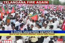 Telangana march: How the day unfolded