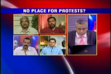 Is the state intolerant towards public protests?