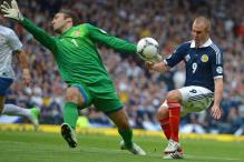 Scotland draw 0-0 with Serbia in WC qualifier