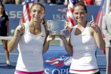 Errani-Vinci win US Open women's doubles title