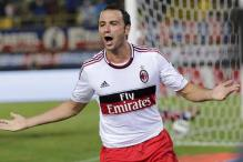 Pazzini hat trick leads AC Milan to 3-1 win