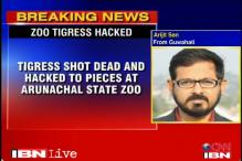 Tigress killed, hacked into pieces at Arunachal zoo