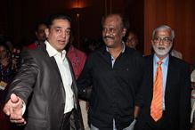 Rajinikanth and Kamal Haasan at FICCI event honouring legends from film industries