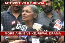 I respect Kejriwal, but I'm not a political agent: Annie Kohli