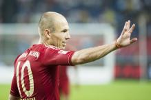 Bayern's Robben to miss BATE Borisov match
