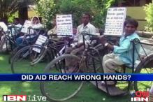 Bulandshahr beneficiaries of Khurshid NGO received aid after row