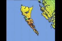 Magnitude 7.7 quake hits Canada's British Columbia
