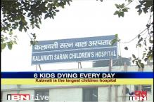 2000 kids die every year at Delhi govt hospital