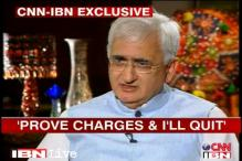 Will resign if charges are proved: Khurshid