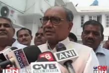 Govt wasn't under pressure to shift Reddy: Digvijaya