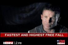 Live at 6 pm on History TV18: Highest and fastest free fall
