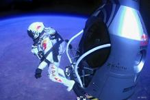 Watch: Felix Baumgartner breaks sound barrier in record jump