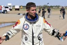 In pics: Skydiver Felix Baumgartner's 39-km record jump