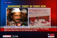 Kejriwal rejects Khurshid's proof, demands for his arrest