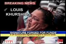 Khurshid's wife files defamation case against TV channel