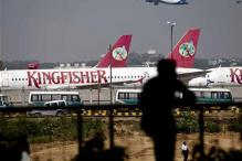 Kingfisher staff protests outside Mumbai airport